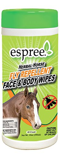 Espree Aloe Herbal Horse Face & Body Wipes, 40 Count ()