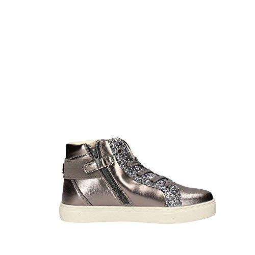 Primigi Mädchen Psr 8309 Hohe Sneaker, Silber (Bronzo/Argento), 29 EU