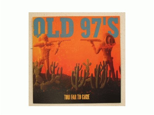 Old 97's Poster Flat Old 97s 2 sided