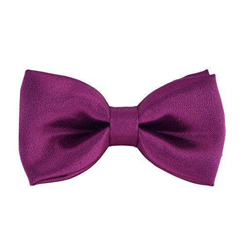 iGirlDress Solid Formal Tuxedo Pre-Tied Bow Tie for Boys BOW1