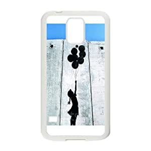 High Quality Phone Back Case Pattern Design 2Tourist Banksy Design- For Samsung Galaxy S5