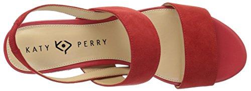 Katy Perry Women's The Annalie Heeled Sandal Spanish Red ycDZi31ocT