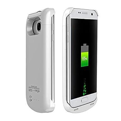 Amazon.com: Samsung Galaxy S7 Protector Blanco con Batería ...