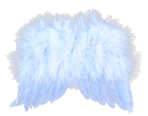 Touch of Nature 7 by 6-Inch Feather Wings for Arts and Craft, Mini, Light Blue for $<!--$6.94-->