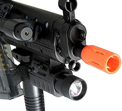 2 Flashlights for Double Eagle M82//M83//M85 Electric Airsoft Gun /& Free Batteries