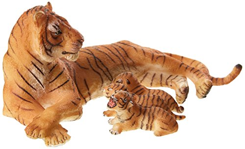 - Papo Wild Animal Kingdom Figure, Lying Tigress Nursing