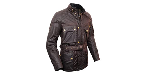 Belstaff Goodwood Trialmaster 2.0 - Chaqueta, Color marrón, marrón, XX-Large: Amazon.es: Deportes y aire libre