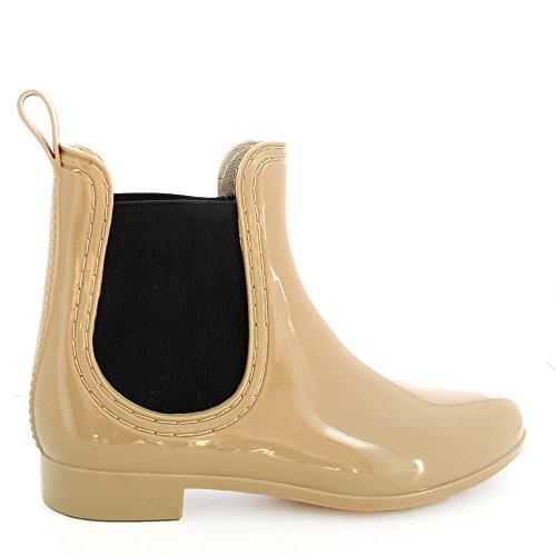 Chaussure Shoes Bottine 40 Pluie Ideal Sherry Femme Taupe de 5fqHxOp