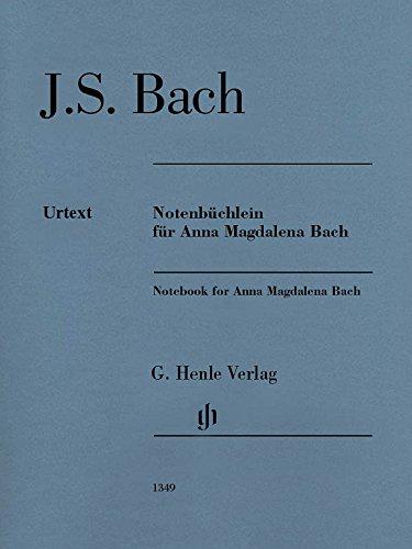 Book Anna Bach Magdalena (J. S. Bach: Notenbüchlein für Anna Magdalena Bach / Notebook for Anna Magdalena Bach)