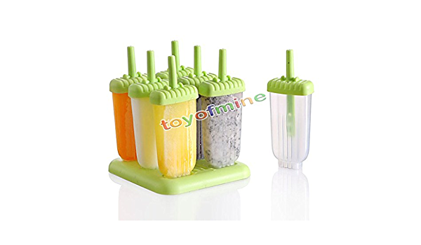 Frozen Ice Cream Cake DIY Mold Popsicle Lolly Mould Tray Pan Kitchen Lin