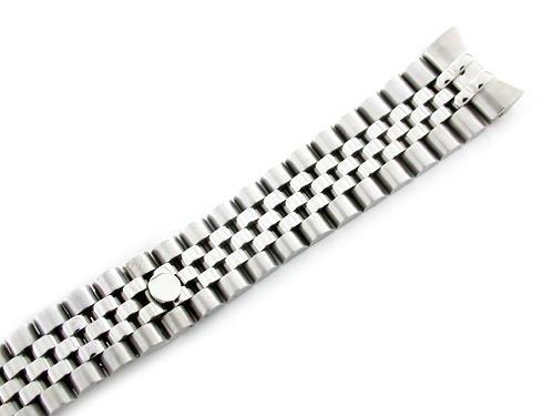 Mens Ss Jubilee Watch Band for Rolex 20mm Hidden Clasp