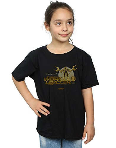 Price comparison product image Alex Chenery Girls Weyland Yutani Loader T-Shirt Black 9-11 Years