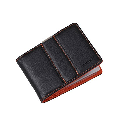 Epoint ECM11A02 Orange Business Designer Money Clip Wallet Card Holder Christmas Day Presents Casual Lawyers
