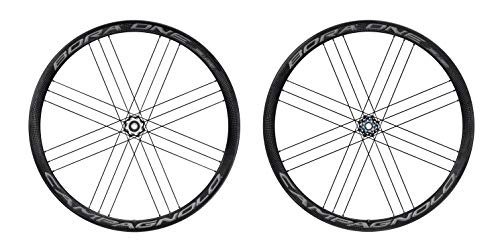 Campagnolo Bora One 35 Db Wheel Set 700 C 9-11 12mm Axle 142mm Dark Label Clincher Bike Cassette