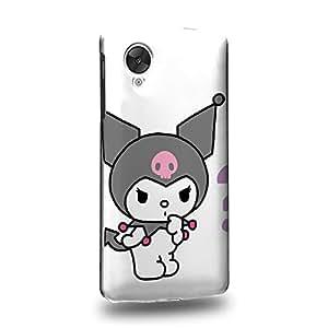 Case88 Premium Designs My Melody & Kuromi Collection 0650 Carcasa/Funda dura para el LG Nexus 5