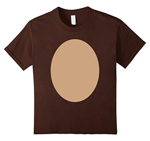 Kids Halloween Costume Christmas Reindeer Rudolph DIY Idea Shirt 12 Brown