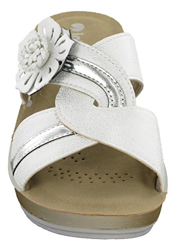 alla Donna Caviglia con Er05 Cinturino INBLU Sandali Glamour White ExwYXqEIRg