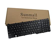 Sunmall Laptop Replacement Keyboard for Toshiba Satellite Pro B350 T350 C650 C655 C650D C675D L650 L650D L655 L655D L670 L670D L675 L675D L750 L750D L755 L755D L770 L770D L775 L775D Series US Layout