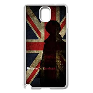 Sherlock Samsung Galaxy Note 3 Cell Phone Case White Y1059675