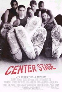 CENTER STAGE - 27x40 D/S Original Movie Poster One Sheet 1999 - Center 40 Sheet