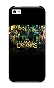 Maria Julia Pineiro's Shop Hot 6712378K13286106 Awesome League Of Legends Flip Case With Fashion Design For Iphone 5c
