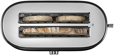 KitchenAid KMT4116OB 4 Slice Long Slot Toaster with High Lift Lever, Onyx Black