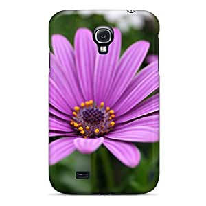 High Quality JqIjaAl8096IxthJ Purple Flowers Flower Tpu Case For Galaxy S4