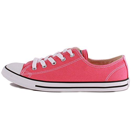 Converse All Star Dainty OX Damen Sneaker Pink Pink