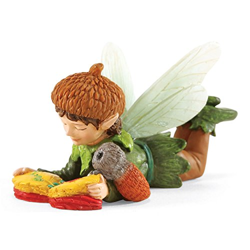 Department 56 Garden Guardians James and the Caterpillar Figurine, 2.5 inch