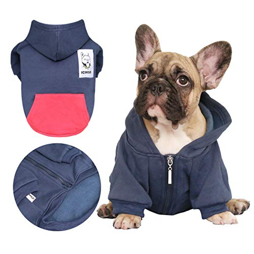 french bulldog hoodies for dogs - 1