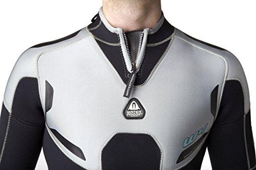 Waterproof Mens W4 5mm Backzip Wetsuit, X-Large/Tall