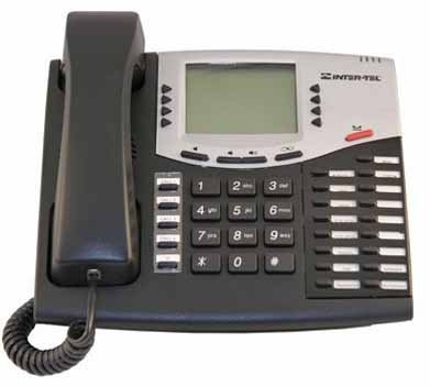 Inter-tel Axxess 550.8662E VOIP Black Display Phone (Inter Tel Voip)