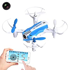Yipa 3D Flip Drone 2.4GHz 4CH 6-Axis Gyro Wifi RC Quadcopter UFO CX17 Drone with Camera