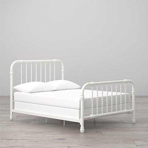 (Little Seeds Monarch Hill Wren Metal Bed Full, White)