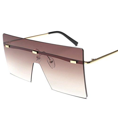 Conductor 3 Color de Gafas conducción Caballero señoras de Las Personalidad de sol Gafas del 2 sol Espejo de de Moda de Gafas HUwx18q
