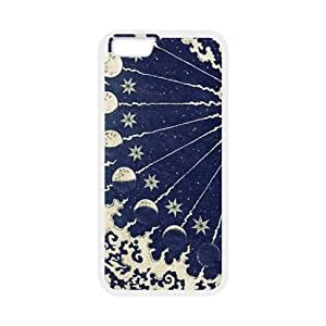 Sun Moon Pattern DIY Case Cover for iphone 5 5s