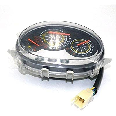 scooter 50cc Instrument Gauge Speedometer for 50 150 Chinese Gas Moped: Sports & Outdoors