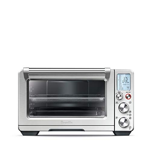 Breville BOV900BSS Convection and Air Fry Smart Oven Air, Brushed Stainless - Giant Oven