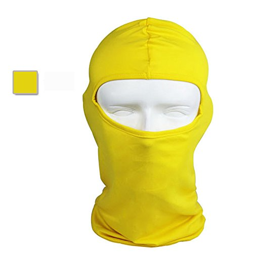 Meanhoo Ultra-thin headband Face Mask with Anti-UV and Anti-sun for Ski Bike Bicycle Outdoor(Yellow?