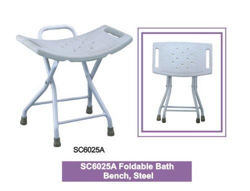 Foldable Bath Bench, Steel
