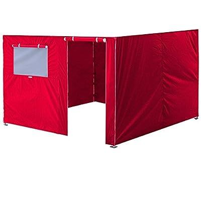 Eurmax Four Sidewalls for Pop up Canopy Enclosure Walls Kit