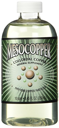 MesoCopper ® 10 ppm Colloidal Copper 250 mL/8.45 Oz