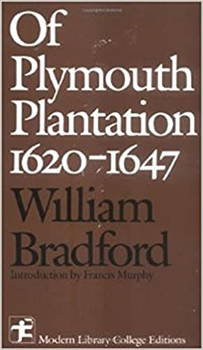 Of Plymouth Plantation 1620 - 1647 1st Edition