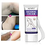 Hair Removal Cream - Pure Natural Depilatory Cream Painless Effectively Remove Hair of Body Underarms Legs Bikini Areas Skin for Men Women 50ml