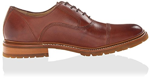 Frye Hombres James Bal Lug Oxford Redwood