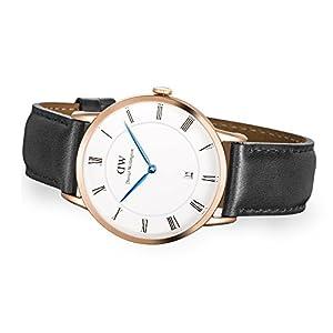Daniel Wellington Reloj Analógico para Hombre de Cuarzo con Correa en Cuero DW00100084 3