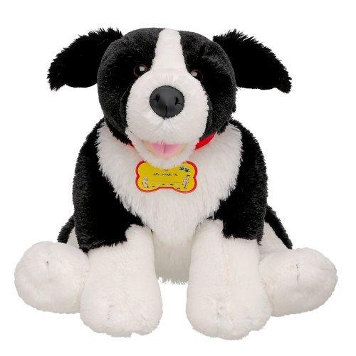 - Build-a-Bear Workshop Stuffed Animal Border Collie Dog