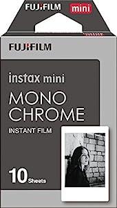 Fujifilm Instax Mini Instant Film 4-PACK BUNDLE SET , Monochrome ( 10 x 2 ) + Black Frame ( 10 x 2 ) 90 8 70 7s 50s 25 300 Camera SP-1 Printer