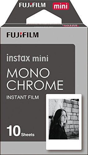 Fujifilm Instax Mini Instant Film 4-PACK BUNDLE SET, Monochrome (10 x 2) + Black Frame (10 x 2) 90 8 70 7s 50s 25 300 Camera...