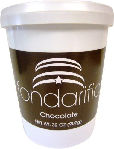 Fondarific Chocolate Fondant Brown, 2-Pounds by Fondarific (Image #1)'